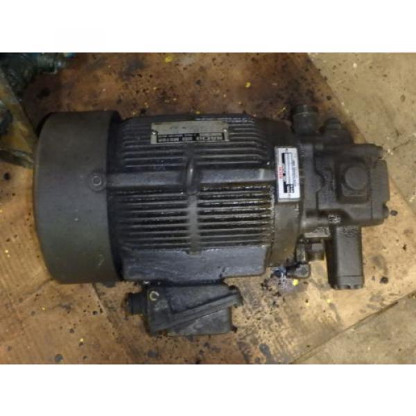 Nachi Variable Vane Pump Motor_VDR-1B-1A3-1146A_LTIS85-NR_UVD-1A-A3-22-4-1140A #4 image