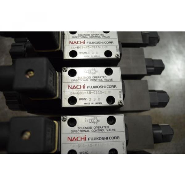 Nachi Hydraulic Solenoid Valve #5 image