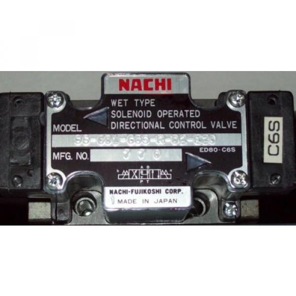 D03 4 Way 4/3 Hydraulic Solenoid Valve i/w Vickers DG4V-3-33C-WL-H 24 VDC #2 image