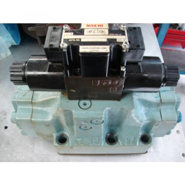Nachi D08 4 Way hydraulic Solenoid Valve DSS-G06-C5-R-C115-E21 vickers parker #1 image