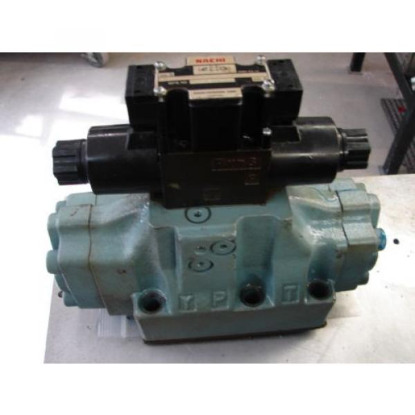 Nachi D08 4 Way hydraulic Solenoid Valve DSS-G06-C5-R-C115-E21 vickers parker #3 image
