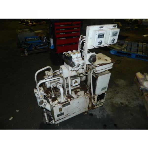 Showa / Nachi 3 HP Hydraulic Unit, PVU-40-0403-HX196 w/ UVD-2A-A2-22-4-1697A #1 image