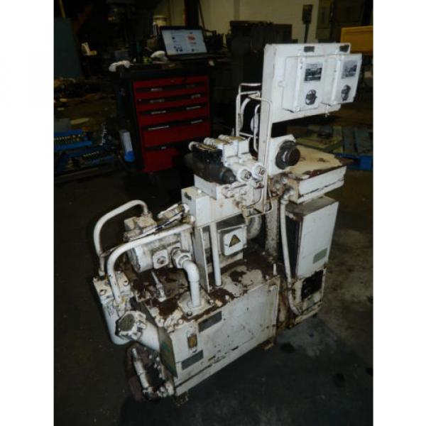 Showa / Nachi 3 HP Hydraulic Unit, PVU-40-0403-HX196 w/ UVD-2A-A2-22-4-1697A #2 image