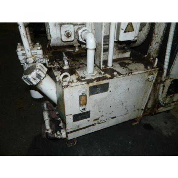 Showa / Nachi 3 HP Hydraulic Unit, PVU-40-0403-HX196 w/ UVD-2A-A2-22-4-1697A #3 image