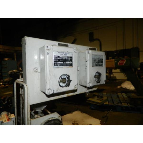 Showa / Nachi 3 HP Hydraulic Unit, PVU-40-0403-HX196 w/ UVD-2A-A2-22-4-1697A #4 image