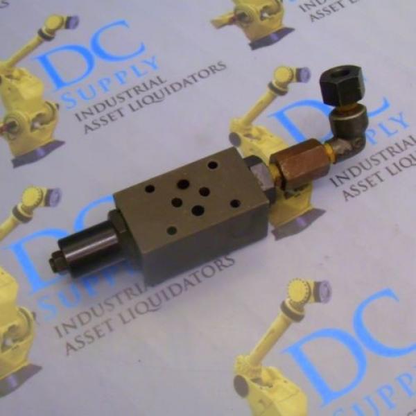 NACHI OG-G01-P1-12 PRESSURE REDUCING MODULAR HYDRAULIC VALVE #2 image
