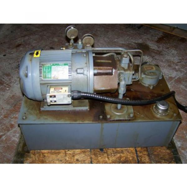 3 HP Hydraulic System with NACHI Variable Vane Pump 4 GPM/1000 PSI #1 image