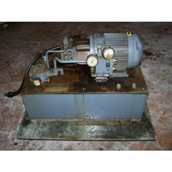 3 HP Hydraulic System with NACHI Variable Vane Pump 4 GPM/1000 PSI #2 image