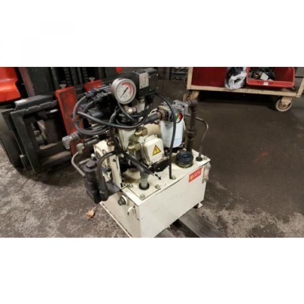 Nachi 3 HP Hydraulic Unit, Nachi Vane Pump # VDR-1B-1A3-U-1146K, OFF OKUMA LATHE #1 image