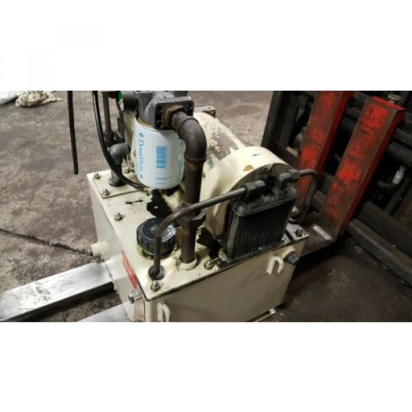 Nachi 3 HP Hydraulic Unit, Nachi Vane Pump # VDR-1B-1A3-U-1146K, OFF OKUMA LATHE #3 image