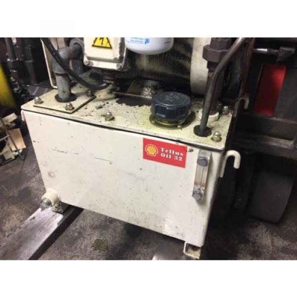 Nachi 3 HP Hydraulic Unit, Nachi Vane Pump # VDR-1B-1A3-U-1146K, OFF OKUMA LATHE #4 image
