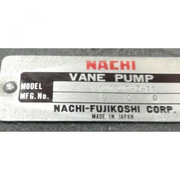 Nachi vane pump VS-0B-5-Z-11 #2 image