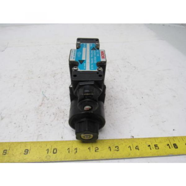 Nachi SL-G01-H3X-RT-C1-9320B Hydraulic Solenoid Directional Control Valve #1 image
