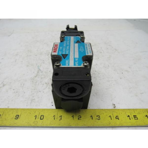 Nachi SL-G01-H3X-RT-C1-9320B Hydraulic Solenoid Directional Control Valve #3 image
