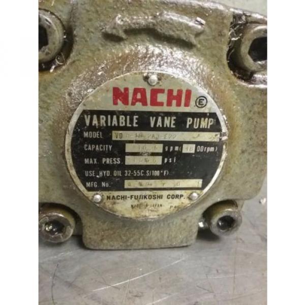 NACHI VARIABLE VANE PUMP VD R-1B-2A3-E22_VDR-1B-2A3-E22_VDR1B2A3E22 #2 image
