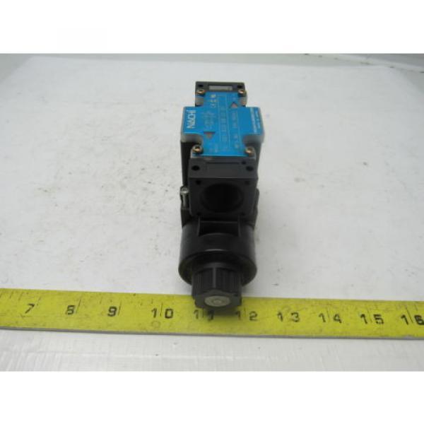 Nachi SL-GO1-A3X-GR-C1-31 Hydraulic Solenoid Directional Control Valve #2 image