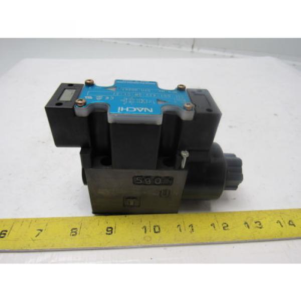 Nachi SL-GO1-A3X-GR-C1-31 Hydraulic Solenoid Directional Control Valve #3 image
