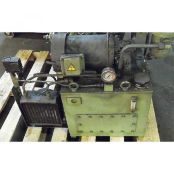 Showa 3 HP Hydraulic Unit, PVU-60-04-HX365, Used,  WARRANTY, Nachi Motor amp; Pump #1 image