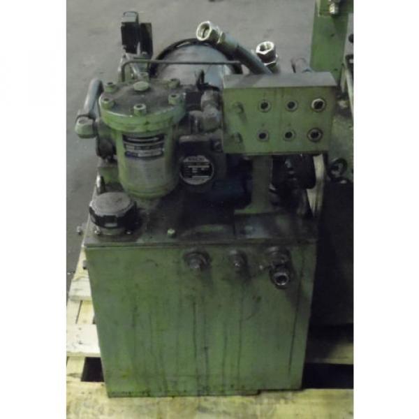 Showa 3 HP Hydraulic Unit, PVU-60-04-HX365, Used,  WARRANTY, Nachi Motor amp; Pump #2 image