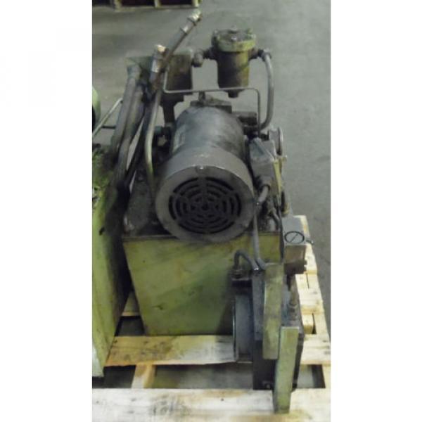 Showa 3 HP Hydraulic Unit, PVU-60-04-HX365, Used,  WARRANTY, Nachi Motor amp; Pump #4 image