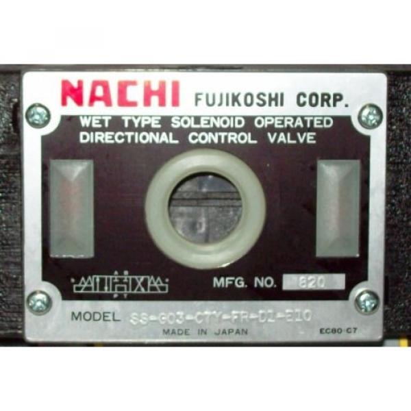 D05 4 Way Shockless Hydraulic Solenoid Valve i/w Vickers DG4S4-018C-WL-G 12 VDC #2 image