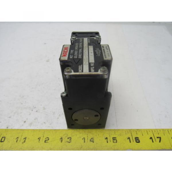Nachi S-G01-B3X-GRZ-D2-32 Hydraulic Solenoid Directional Control Valve #1 image