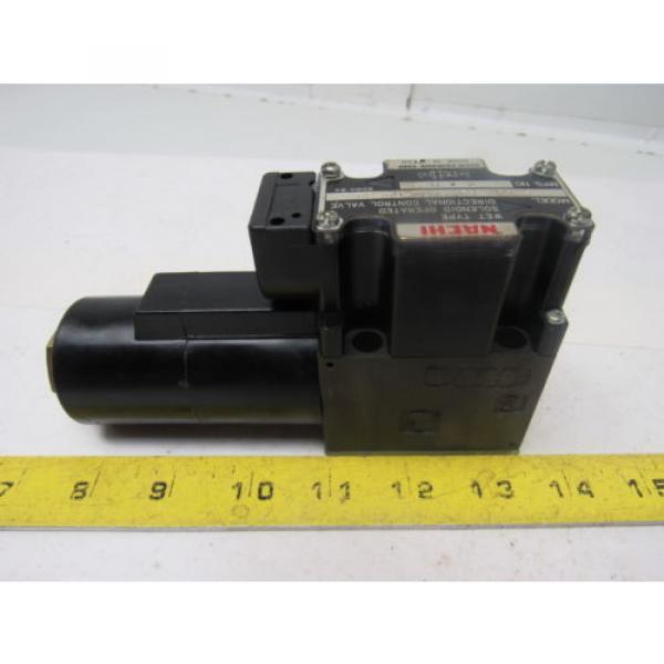 Nachi S-G01-B3X-GRZ-D2-32 Hydraulic Solenoid Directional Control Valve #2 image