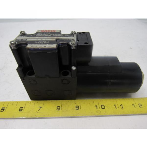 Nachi S-G01-B3X-GRZ-D2-32 Hydraulic Solenoid Directional Control Valve #4 image