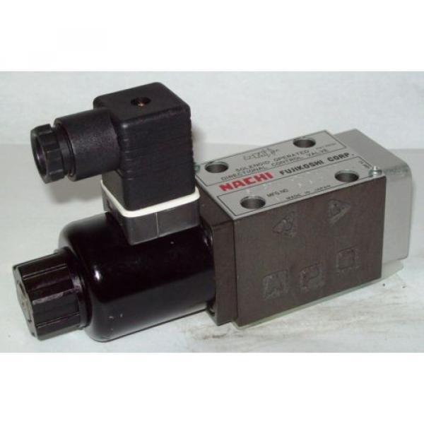 D03 4 Way 4/2 Hydraulic Solenoid  Nachi SA-GO1-A3Z-D1-E20 12 VDC #1 image