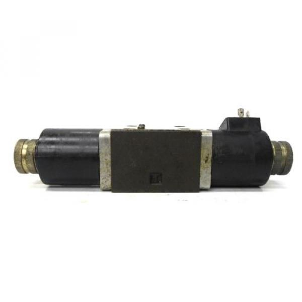 NACHI FUJIKOSHI SOLENOID OPERATED CONTROL HYDRAULIC VALVE SA-G01-C9-R-E1-8683A #3 image