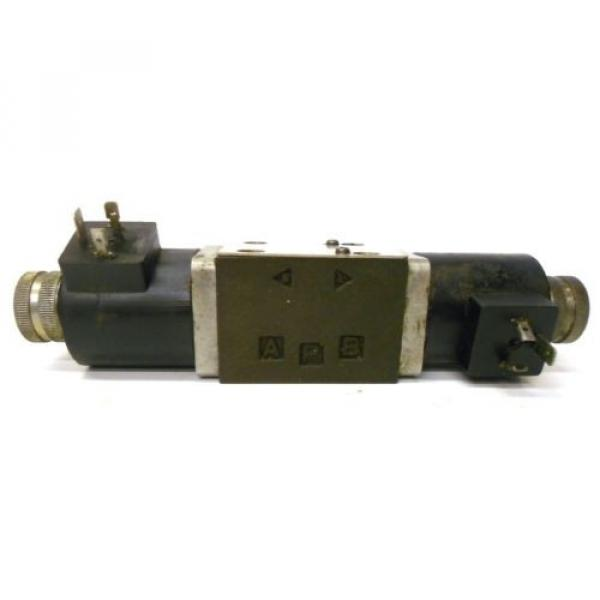 NACHI FUJIKOSHI SOLENOID OPERATED CONTROL HYDRAULIC VALVE SA-G01-C9-R-E1-8683A #5 image