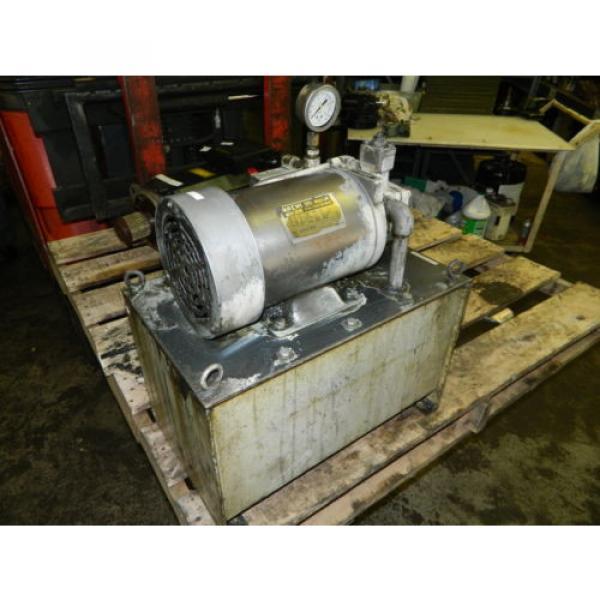 Nachi 2 HP 15kW Hydraulic Unit w/ Tank, VDS-0B-1A3-U-10, Used, WARRANTY #1 image