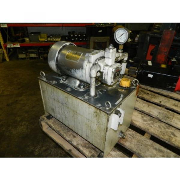 Nachi 2 HP 15kW Hydraulic Unit w/ Tank, VDS-0B-1A3-U-10, Used, WARRANTY #2 image