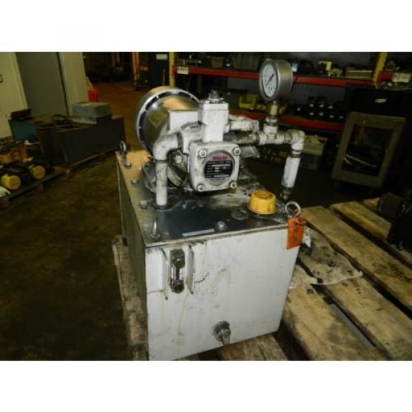 Nachi 2 HP 15kW Hydraulic Unit w/ Tank, VDS-0B-1A3-U-10, Used, WARRANTY #3 image