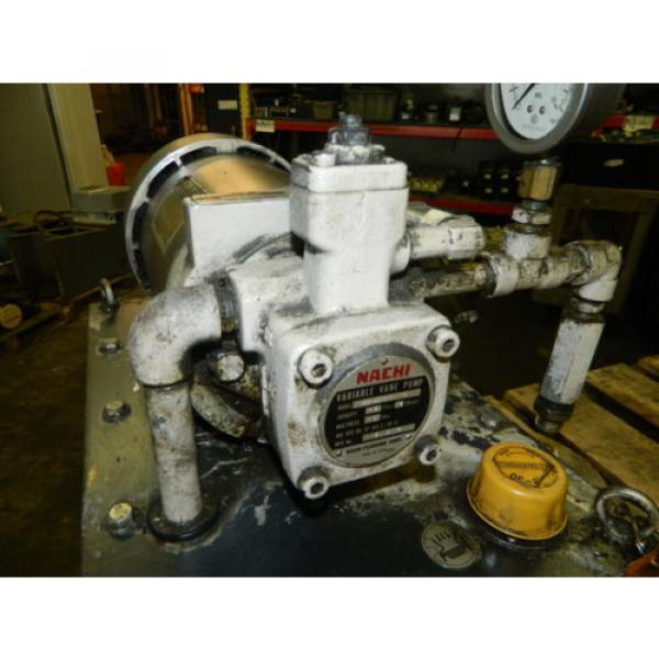 Nachi 2 HP 15kW Hydraulic Unit w/ Tank, VDS-0B-1A3-U-10, Used, WARRANTY #4 image