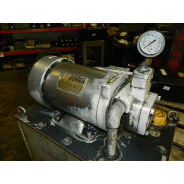 Nachi 2 HP 15kW Hydraulic Unit w/ Tank, VDS-0B-1A3-U-10, Used, WARRANTY #5 image