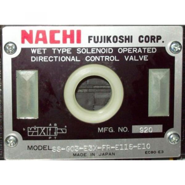 D05 4 Way Shockless Hydraulic Solenoid Valve i/w Vickers DG4S4-012N-WL-B 115 VAC #2 image