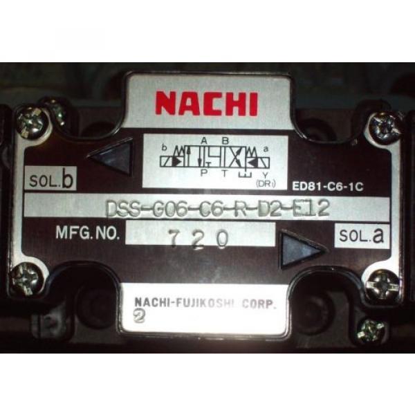 D08 4 Way Tandem Hydraulic Solenoid Valve i/w Vickers DG5S-8-S-6C-WL-H 24 VDC #2 image