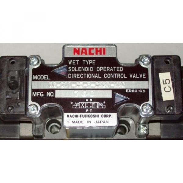 D03 4 Way 4/3 Hydraulic Solenoid Valve i/w Vickers DG4V-3-2C-WL-D 230 VAC #2 image