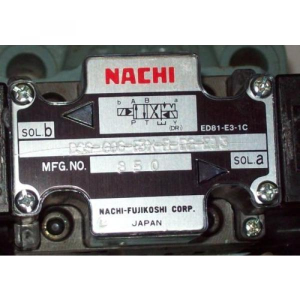 D08 4 Way 4/2 Hydraulic Solenoid Valve i/w Vickers DG5S-8-S-2N-WL-H 24 VDC #2 image