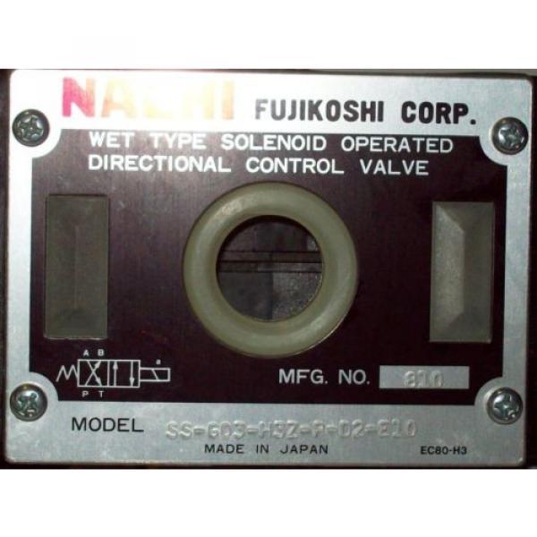D05 4 Way 4/2 Hydraulic Solenoid Valve i/w Vickers DG4S4-010AL-WL-H 24 VDC #2 image