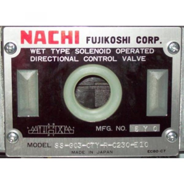 D05 4 Way 4/3 Hydraulic Solenoid Valve i/w Vickers DG4S4-018C-WL-D 230 VAC #2 image