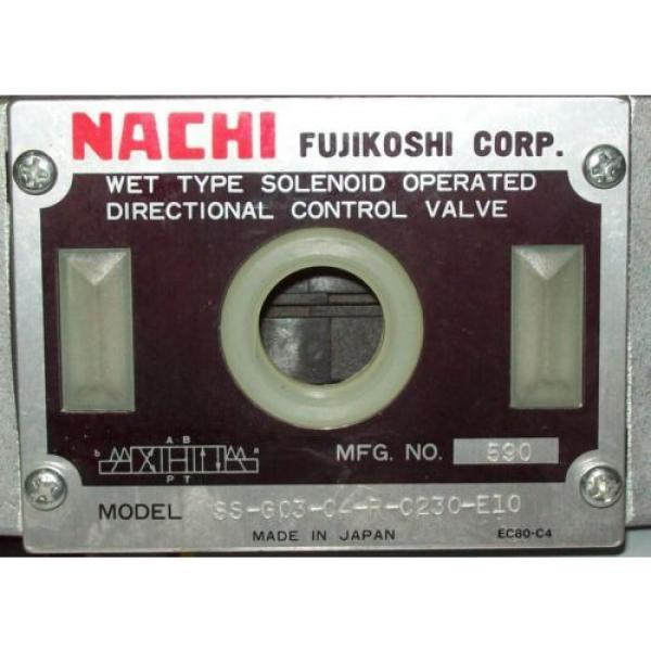 D05 4 Way 4/3 Hydraulic Solenoid Valve i/w Vickers DG4S4-010C-WL-D 230 VAC #2 image