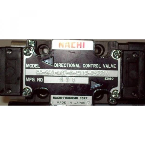 D03 4 Way 4/2 Hydraulic Solenoid Valve i/w Vickers DG4V-3-?BL-WL-B 115 VAC #2 image