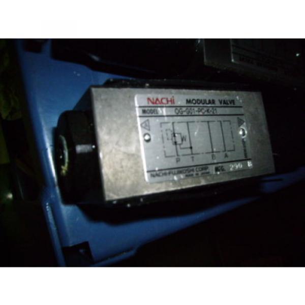 Nachi Modular Valve, # OG-G01-AC-K-21  Origin HYDRAULIC DIRECTIONAL #3 image