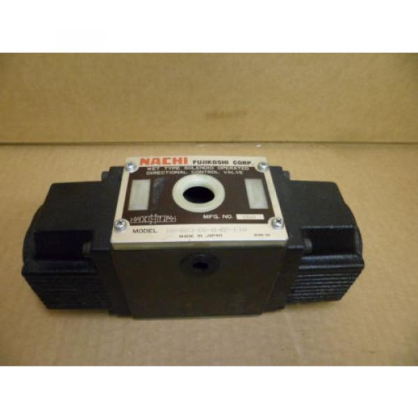 NACHI SS-G03-C6-R-D2-E10 WET TYPE SOLENOID OPERATED DIRECTIONAL HYDRAULIC VALVE #1 image