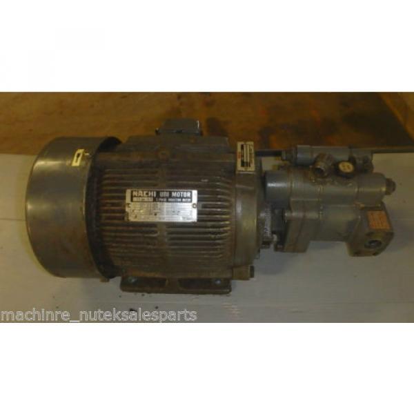 Nachi Piston Pump PVS-1B-19N1-2408F_UPV-1A-19N1-22-4-2408F_LTIS70-NR #1 image
