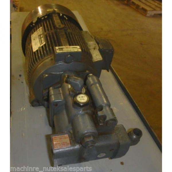 Nachi Piston Pump PVS-1B-19N1-2408F_UPV-1A-19N1-22-4-2408F_LTIS70-NR #2 image