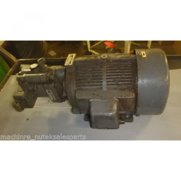 Nachi Piston Pump PVS-1B-19N1-2408F_UPV-1A-19N1-22-4-2408F_LTIS70-NR #5 image