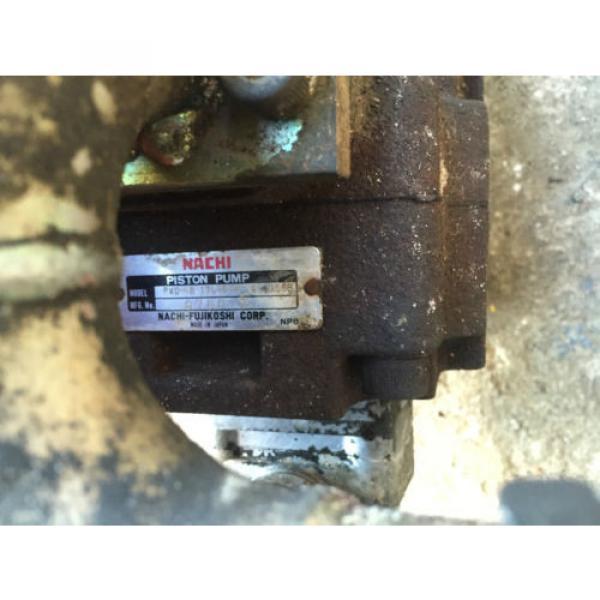 Nachi Mini Digger Case C23 Hydraulic Pump Spare Parts #4 image